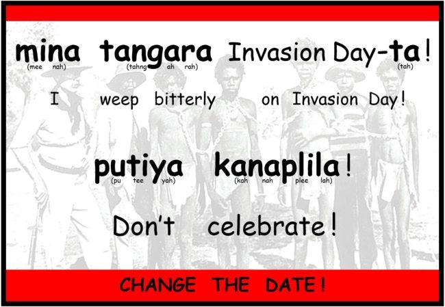 Invasion day 2016 sentence JPEG image