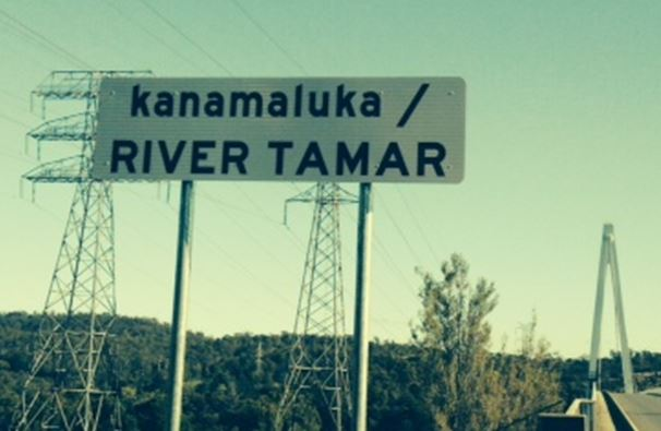kanamaluka River sign
