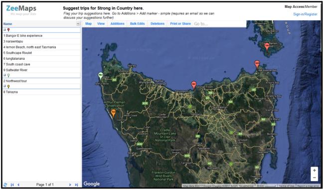 Tasmanian Aboriginal Centre – rrala milaythina-ti / Strong