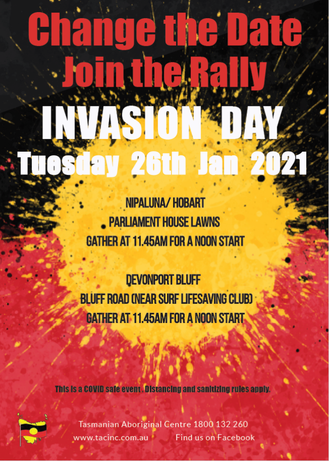 Change the Date - Invasion Day 2021 Rally
